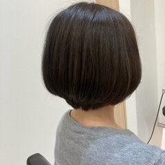 ショートボブ ミニボブ ショート エレガント ヘアスタイルや髪型の写真・画像