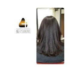 頭皮ケア ナチュラル セミロング トリートメント ヘアスタイルや髪型の写真・画像