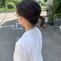簡単ヘアアレンジ ヘアアレンジ ナチュラル ラーメンマンヘア ヘアスタイルや髪型の写真・画像