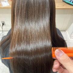 髪質改善トリートメント ミディアム アンニュイほつれヘア ナチュラル ヘアスタイルや髪型の写真・画像