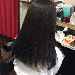 #インナーカラー ヘアカラー ガーリー セミロング ヘアスタイルや髪型の写真・画像