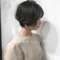 コーディネート ショート 可愛い 大人可愛い ヘアスタイルや髪型の写真・画像