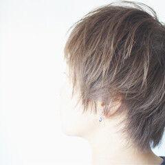 ヘアアレンジ ショートボブ ナチュラル ショート ヘアスタイルや髪型の写真・画像