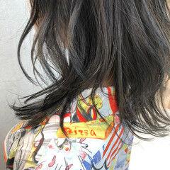 ナチュラル ミディアム ハイライト 大人ハイライト ヘアスタイルや髪型の写真・画像