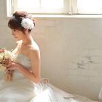 ブライダル 結婚式 花嫁 ヘアアレンジ