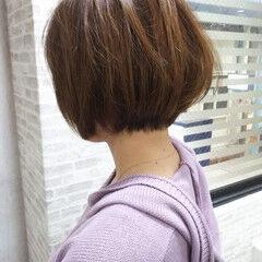 社会人 オフィス ヘアカラー 大人カジュアル ヘアスタイルや髪型の写真・画像