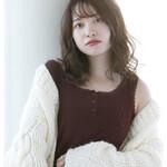 透明感カラー 韓国ヘア 巻き髪 外国人風カラー
