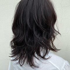 バイオレット ナチュラル N.オイル ロング ヘアスタイルや髪型の写真・画像