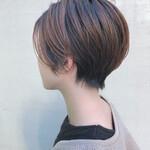 ショート ナチュラル 簡単スタイリング ショートヘア