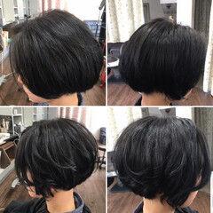モード ボブ ヘアアレンジ 中津市ヘアセット ヘアスタイルや髪型の写真・画像