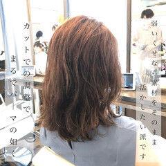くせ毛風 ゆるふわパーマ くせ毛 パーマ ヘアスタイルや髪型の写真・画像