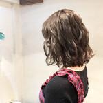 艶髪 フェミニン うる艶カラー 美髪