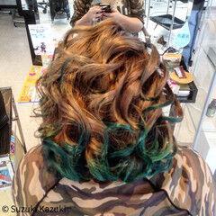 ミディアム ガーリー ライブ ヘアスタイルや髪型の写真・画像