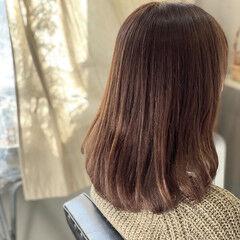デジタルパーマ ナチュラル セミロング 大人かわいい ヘアスタイルや髪型の写真・画像