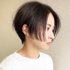 ショート モード ハンサムショート 大人ショート ヘアスタイルや髪型の写真・画像