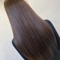 トリートメント 艶髪 ロング うる艶カラー ヘアスタイルや髪型の写真・画像