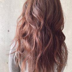大人女子 フェミニン 大人かわいい ロング ヘアスタイルや髪型の写真・画像
