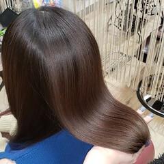 ナチュラル トリートメント ロング 髪質改善 ヘアスタイルや髪型の写真・画像