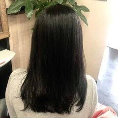 髪質改善トリートメント 髪質改善 ストレート ナチュラル ヘアスタイルや髪型の写真・画像