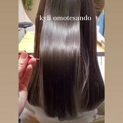 アンニュイほつれヘア デート 髪質改善トリートメント 最新トリートメント ヘアスタイルや髪型の写真・画像
