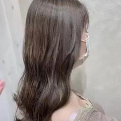 インナーカラー ホワイト ナチュラル 外国人風カラー ヘアスタイルや髪型の写真・画像