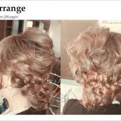 ギブソンタック コンサバ モテ髪 ヘアアレンジ ヘアスタイルや髪型の写真・画像