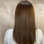 切りっぱなしボブ 髪質改善トリートメント 髪質改善 インナーカラー