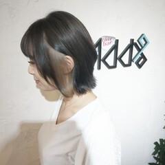 ネオウルフ ウルフ女子 コンサバ ウルフ ヘアスタイルや髪型の写真・画像