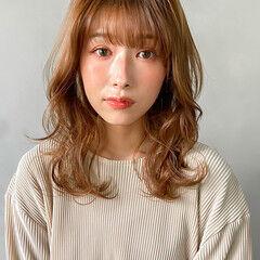 韓国ヘア レイヤーカット ナチュラル ヨシンモリ ヘアスタイルや髪型の写真・画像