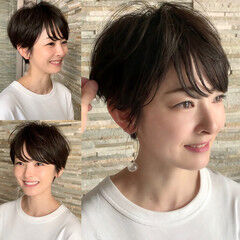 新垣結衣 フェミニン ショートボブ 長澤まさみ ヘアスタイルや髪型の写真・画像