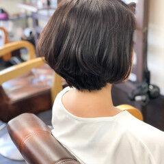 ナチュラル ショート お手入れ簡単!! 小頭 ヘアスタイルや髪型の写真・画像