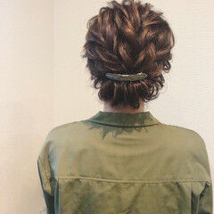 アップ フェミニン ヘアアレンジ アップスタイル ヘアスタイルや髪型の写真・画像