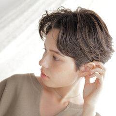 大人ショート N.オイル ナチュラル ショート ヘアスタイルや髪型の写真・画像