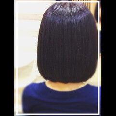 黒髪 社会人の味方 オフィス 髪質改善トリートメント ヘアスタイルや髪型の写真・画像