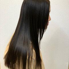 艶髪 美髪 圧倒的透明感 ガーリー ヘアスタイルや髪型の写真・画像