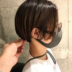 ハンサム ストリート ハンサムショート ハンサムバング ヘアスタイルや髪型の写真・画像