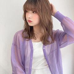 ミディアム フェミニン 大人かわいい 簡単ヘアアレンジ ヘアスタイルや髪型の写真・画像