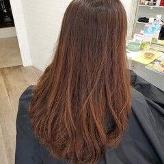 ナチュラル 艶髪 縮毛矯正 縮毛矯正ストカール ヘアスタイルや髪型の写真・画像