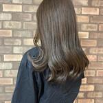透明感 艶髪 アディクシーカラー ナチュラル