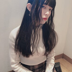 暗髪バイオレット 暗髪女子 ダークアッシュ ナチュラル