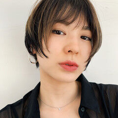 PEEK-A-BOO ショートボブ ボブ 阿藤俊也 ヘアスタイルや髪型の写真・画像