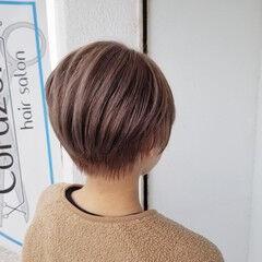 ダメージレス ショート ヘアケア フェミニン ヘアスタイルや髪型の写真・画像