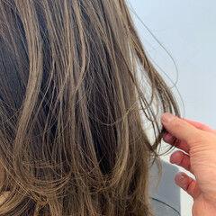 ミディアム オリージュ ミディアムレイヤー エレガント ヘアスタイルや髪型の写真・画像