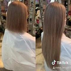 エレガント 派手髪 ボブアレンジ ギャル ヘアスタイルや髪型の写真・画像