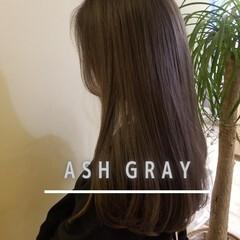 ブリーチオンカラー 外国人風カラー アッシュグレージュ ブリーチ必須 ヘアスタイルや髪型の写真・画像