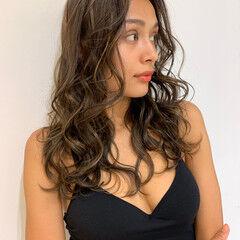 3Dハイライト ギャル エレガント ハイライト ヘアスタイルや髪型の写真・画像