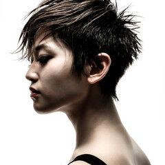 モード ベリーショート ショート 阿藤俊也 ヘアスタイルや髪型の写真・画像