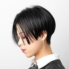 大人ヘアスタイル モード ハンサムショート 阿藤俊也 ヘアスタイルや髪型の写真・画像
