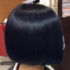 ブルージュ ベリーショート モード ミニボブ ヘアスタイルや髪型の写真・画像