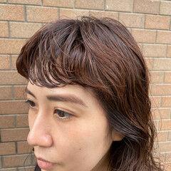 ナチュラル ゆるふわパーマ ウェーブヘア ロング ヘアスタイルや髪型の写真・画像